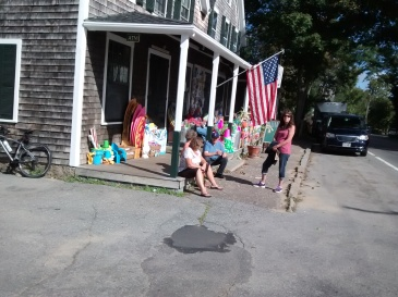 What's cooler than the front porch of a general store?