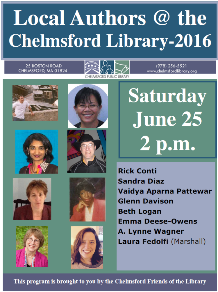 FLYER Local Authors 2016